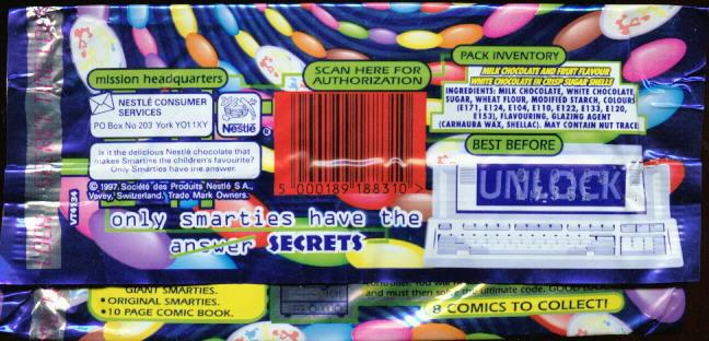 Smarties Secrets - 1998